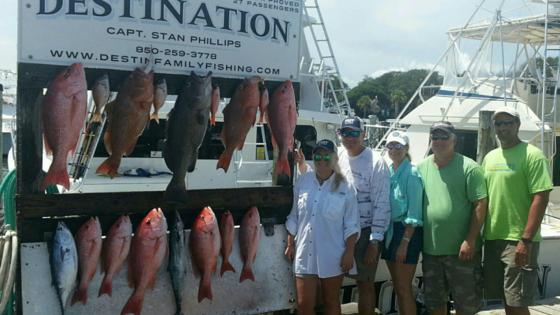 Fishing Season in Destin